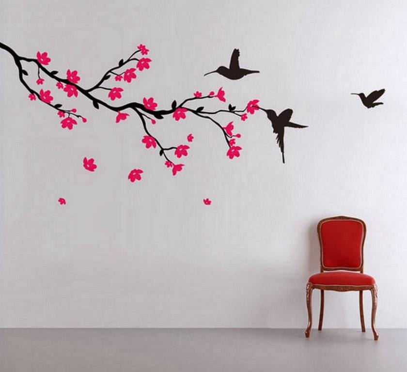 decoracin como pintar paredes ideas y diseos faciles de decoracion de paredes - Decoracion Pintura Paredes