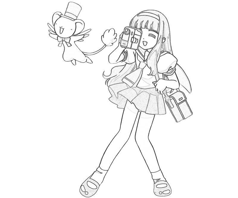 cardcaptor-sakura-tomoyo-daidouji-pose-coloring-pages