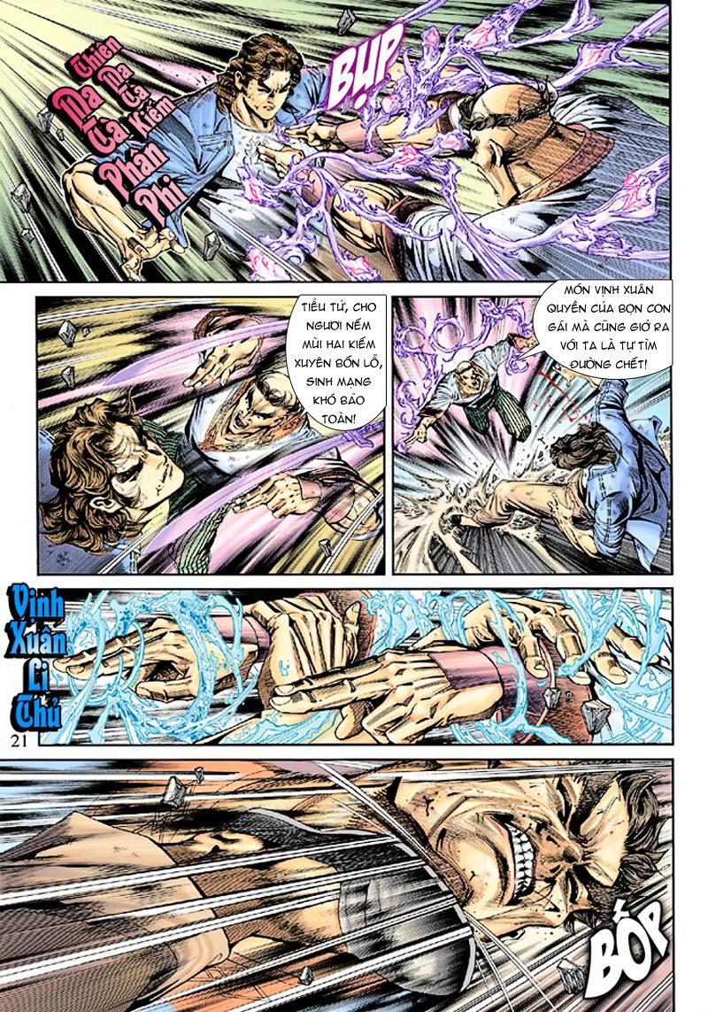 Tân Tác Long Hổ Môn chap 165 - Trang 21
