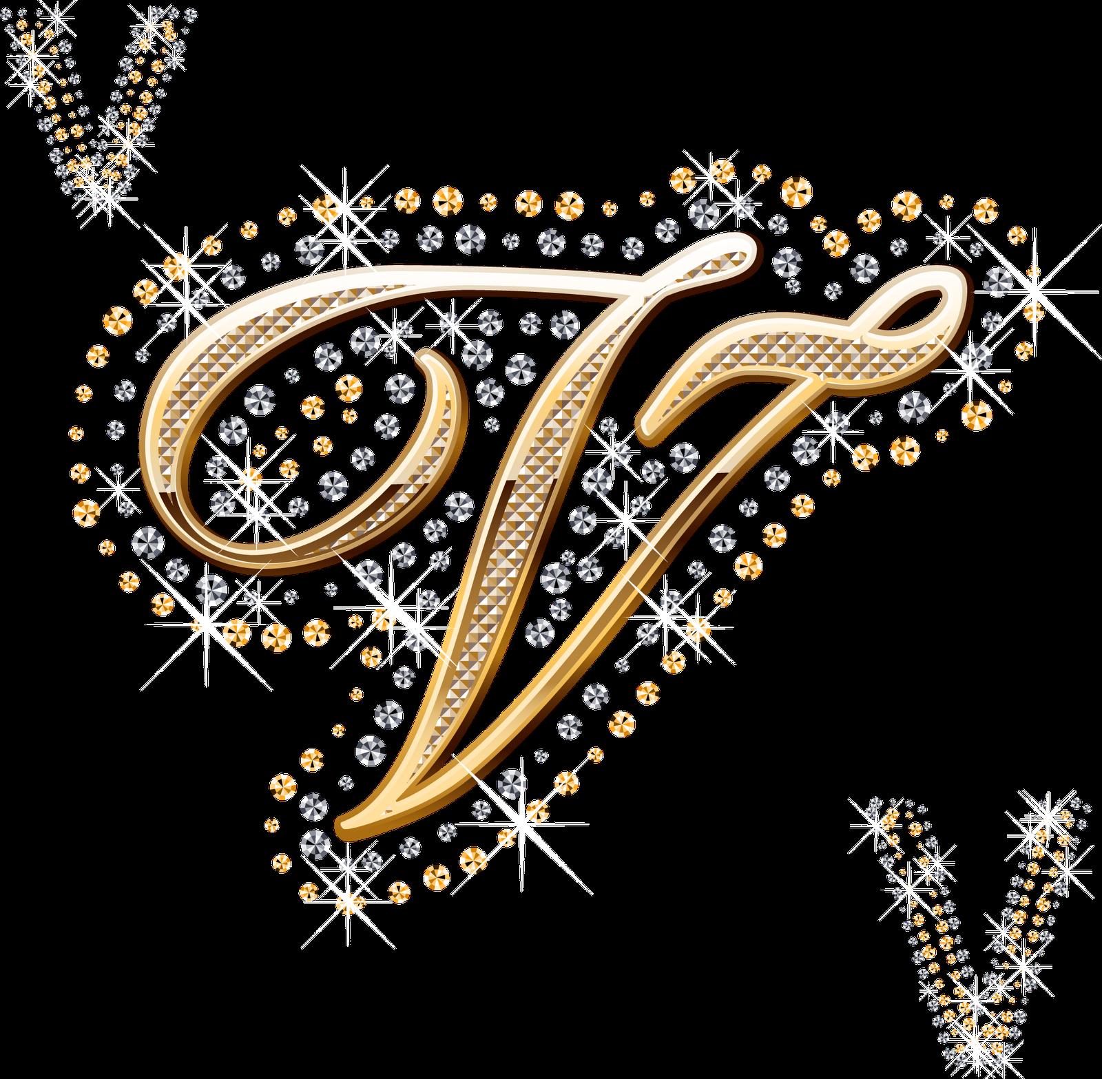 alfabeto decorado dourado   strass em png   alfabetos lindos