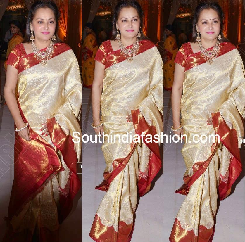 jayapradha bridal saree