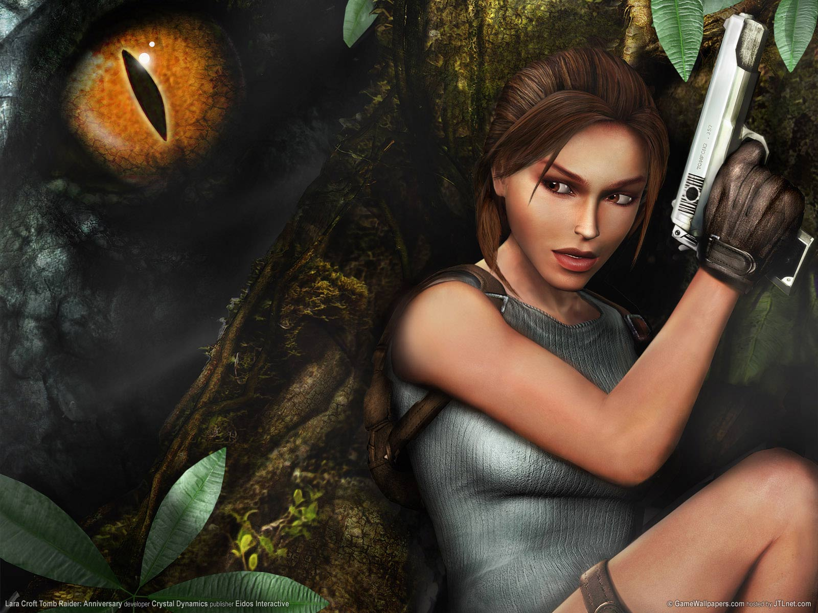 According to the plan  Tomb Raider Trilogy will be available    Tomb Raider Anniversary Wallpaper