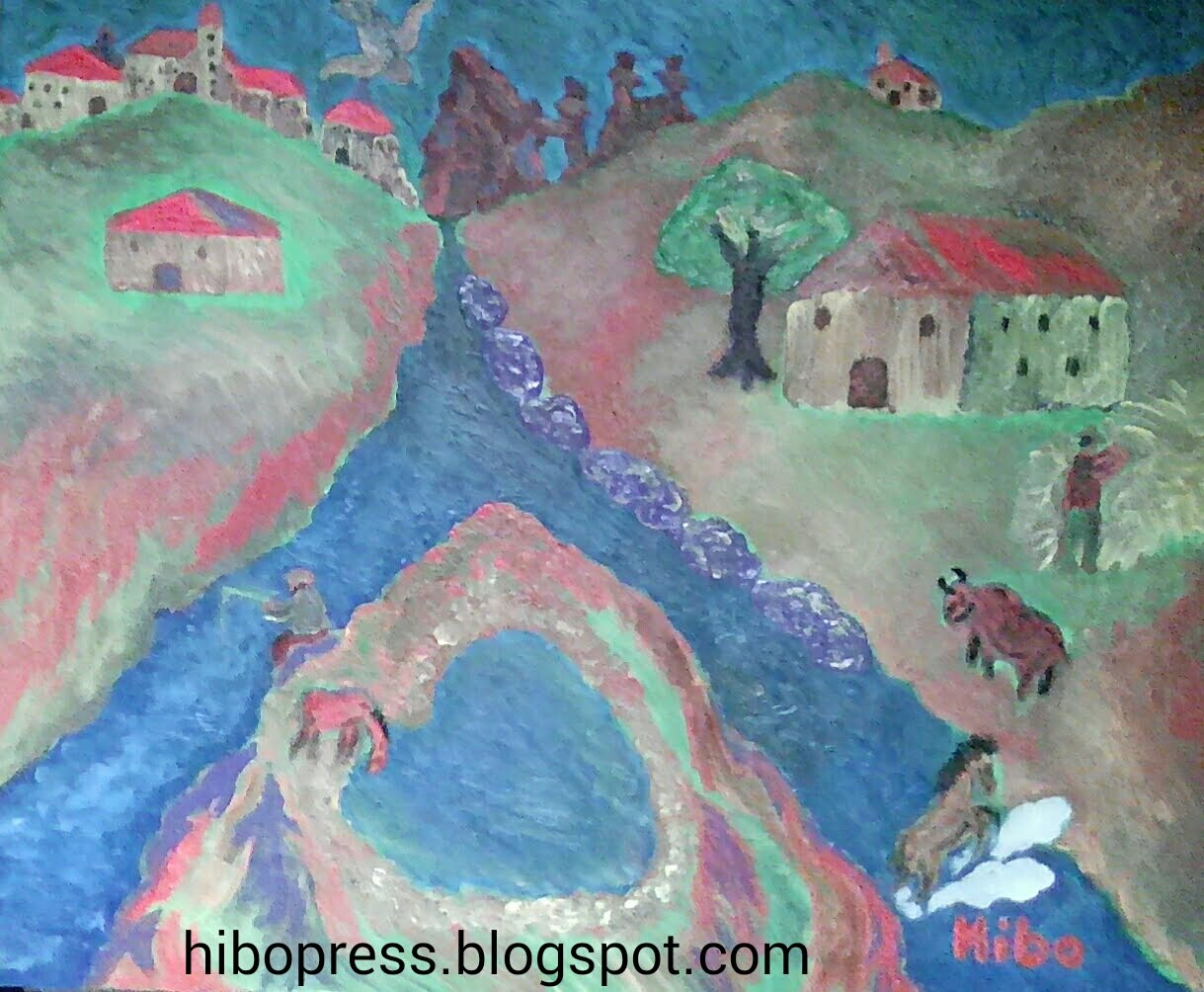 Oil paintings on canvas entitled magnificence of nature .. for sale/ لوحة زيتية على قماش بعنوان رو
