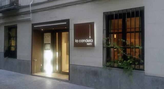 Fachada, La Candela resto