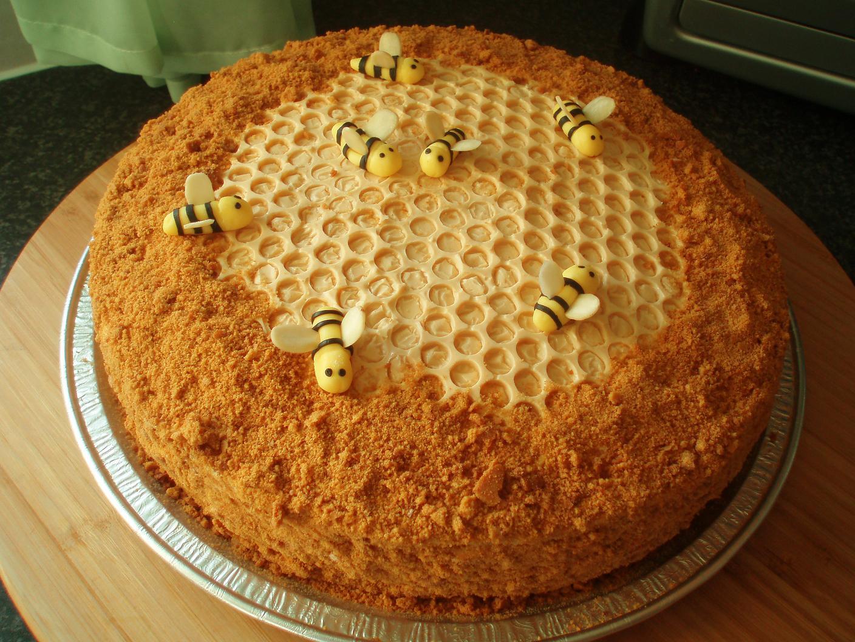 Как сделать пчел на медовый торт 48