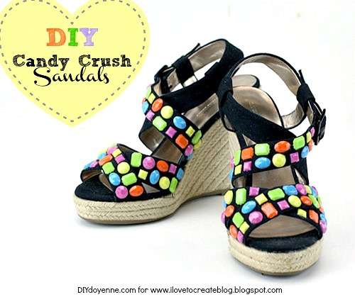 Candy Crush Costume DIY