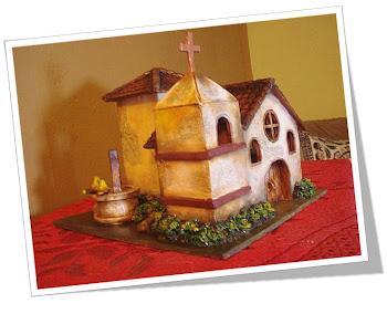 Detalle de la Iglesia rural