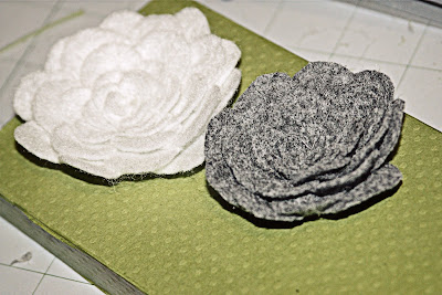 mum gifts: felt flowers tutorial