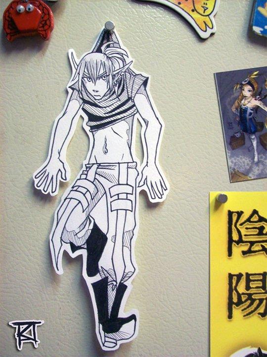 Figuras Anime en papel. 188294_10150262342209819_213182229818_7274029_5435873_n