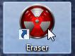 Acceso directo de Eraser