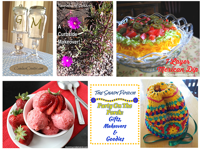 features from Party On The Porch: Gifts, Makeovers & Goodies