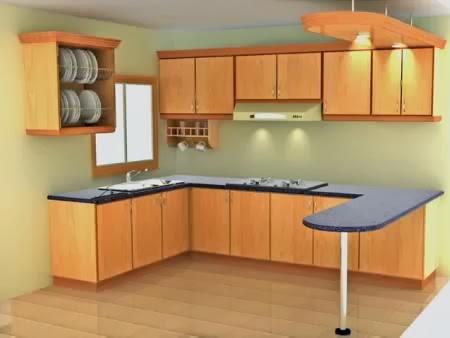 Harga kitchen set murah untuk dapur idaman gambar rumah for Bikin kitchen set