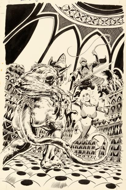 Artist's Snapshot: Frank Thorne