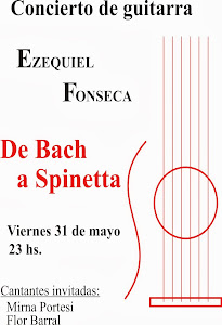 """DE BACH A SPINETTA"" Concierto de Guitarra."