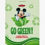 DISNEY GO GREEN: A Family Guide To A Sustainable Lifestyle cover' width=