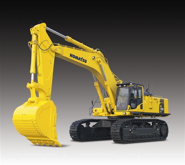 Komatsu Excavators PC700LC-8