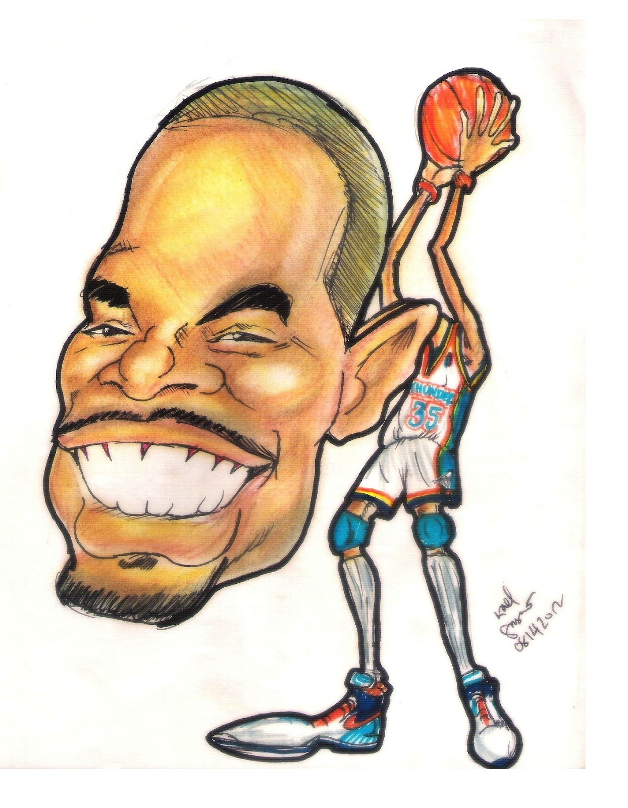 free coloring pages of how to draw kevin durant