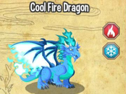 COOL FIRE DRAGON : VOLCANO >