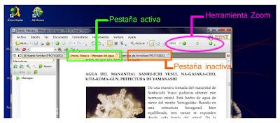 pdf exchange viewer: herramientas, pestanas, ventanas.