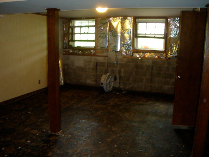 Frugal Ain T Cheap Basement Remodel