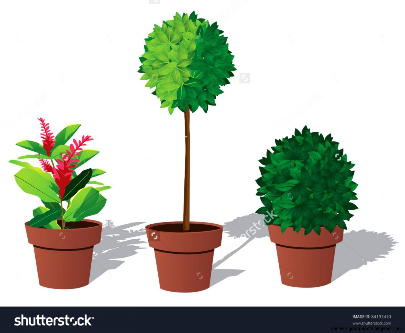 Plant Pot Stock Vectors  Vector Clip Art  Shutterstock
