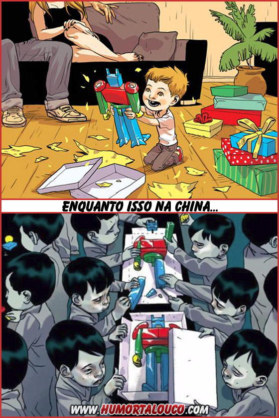 Enquanto isso no Natal da China