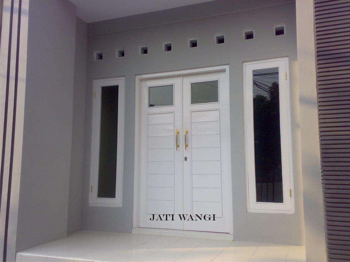 Rumah minimalis: Desain pintu utama rumah minimalis