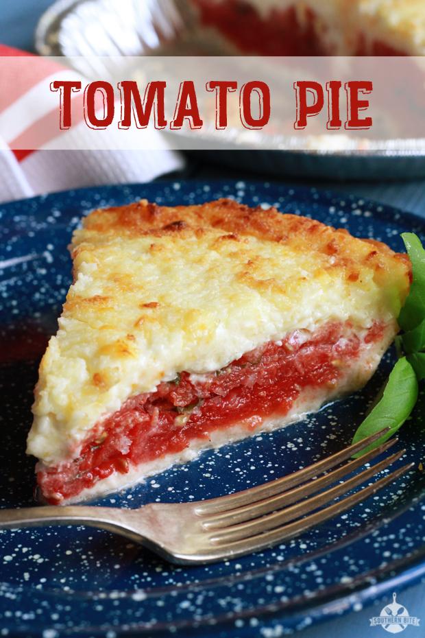 tomato pie 4 medium tomatoes salt 1 regular pie crust