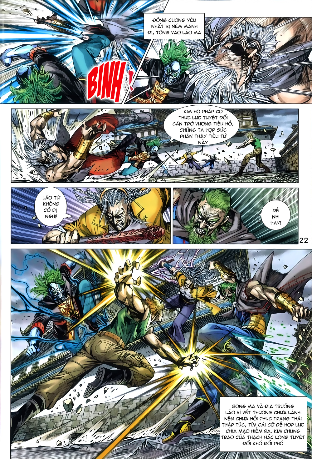Tân Tác Long Hổ Môn chap 791 Trang 22 - Mangak.info