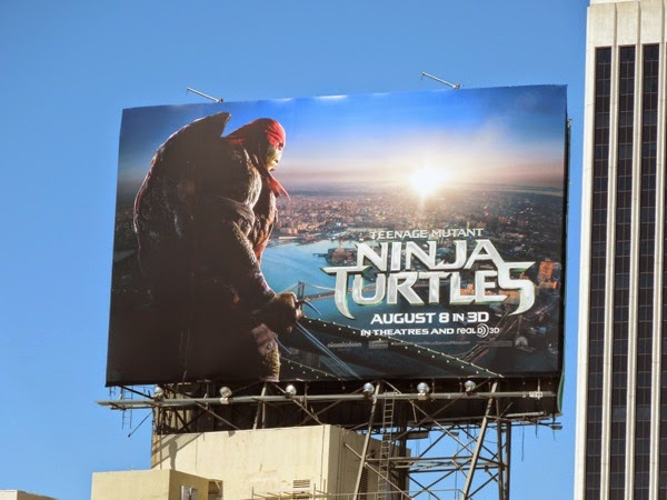 Raphael Teenage Mutant Ninja Turtles billboard