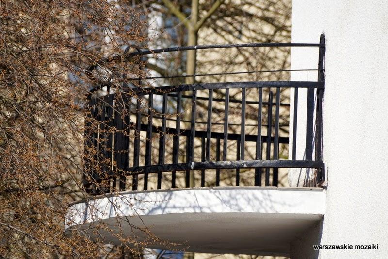 Warszawa Żoliborz balkon