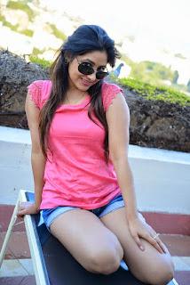 Actress Prabhjeet Kaur  Pictureshoot Gallery in Denim Shorts  24