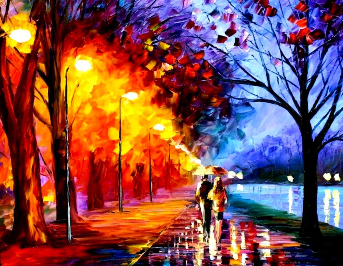 autumn art wallpaper