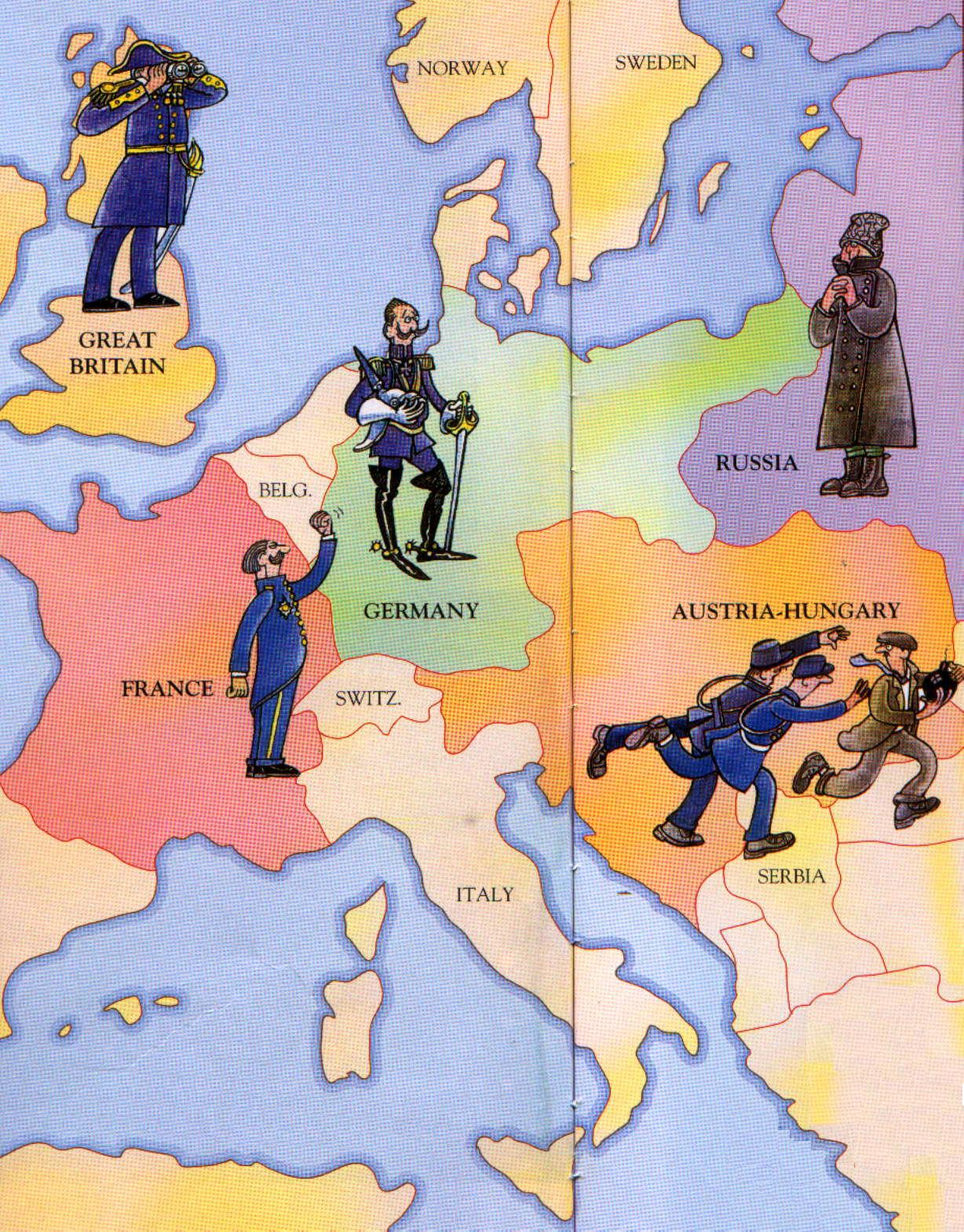 La Primera Guerra Mundial - Monografias.com
