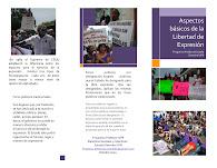 Folleto Ciudadano: Aspectos básicos del Derecho a la Libertad de Expresión