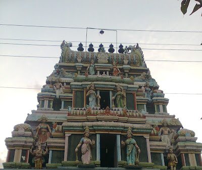 art works of temple in vellore