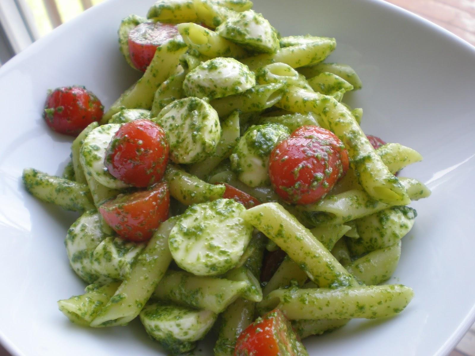 La cuisine de radisjoli - recettes et propos culinaires - Salade Pates Pesto