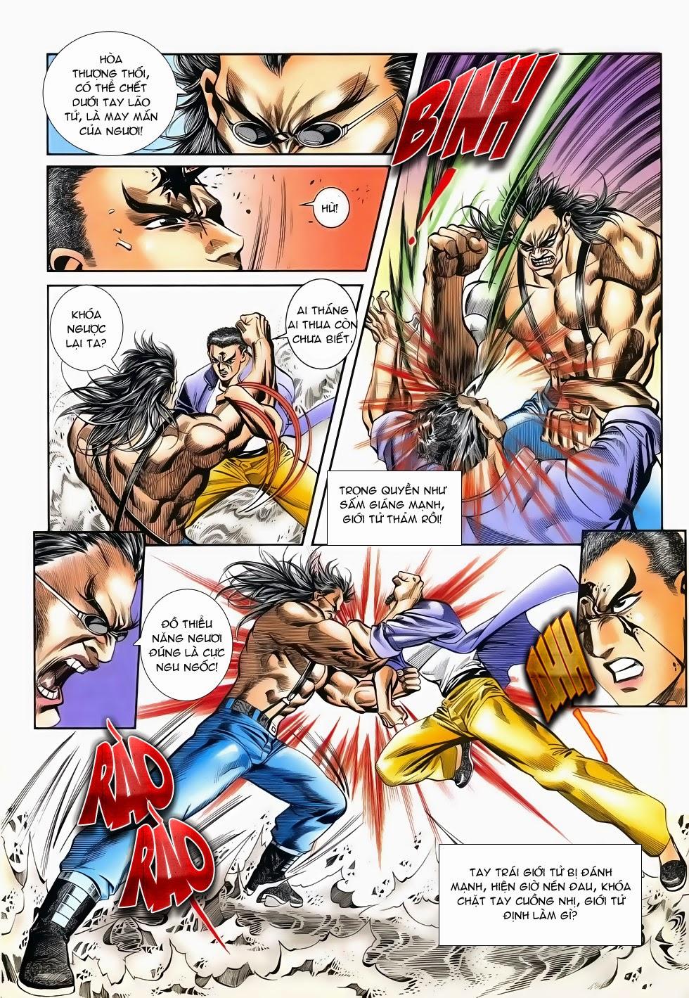 Long Hổ Phong Bạo chap 3 - Trang 24