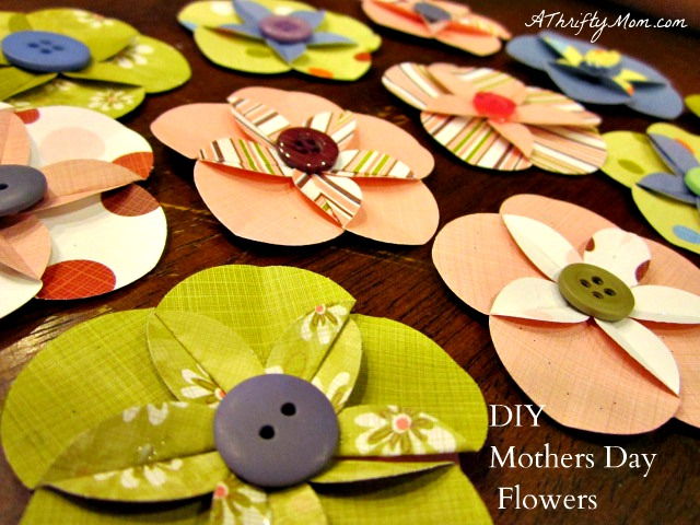 Lana creations my knitting work knit project and free - Simple handmade paper flowers ...