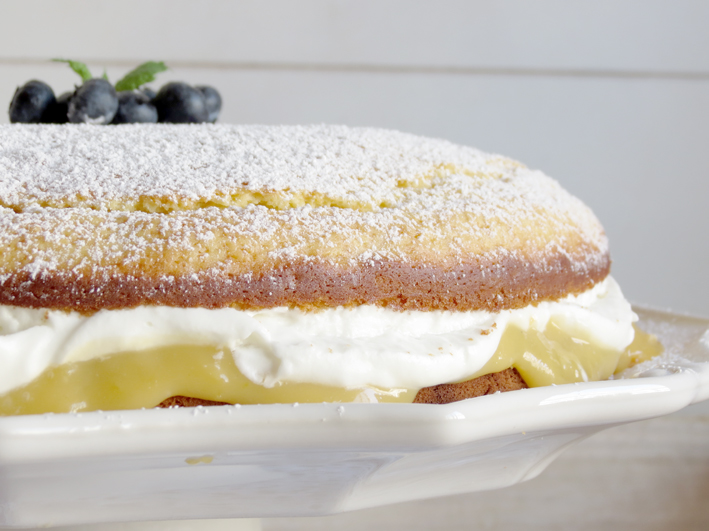 bolo de limão e iogurte