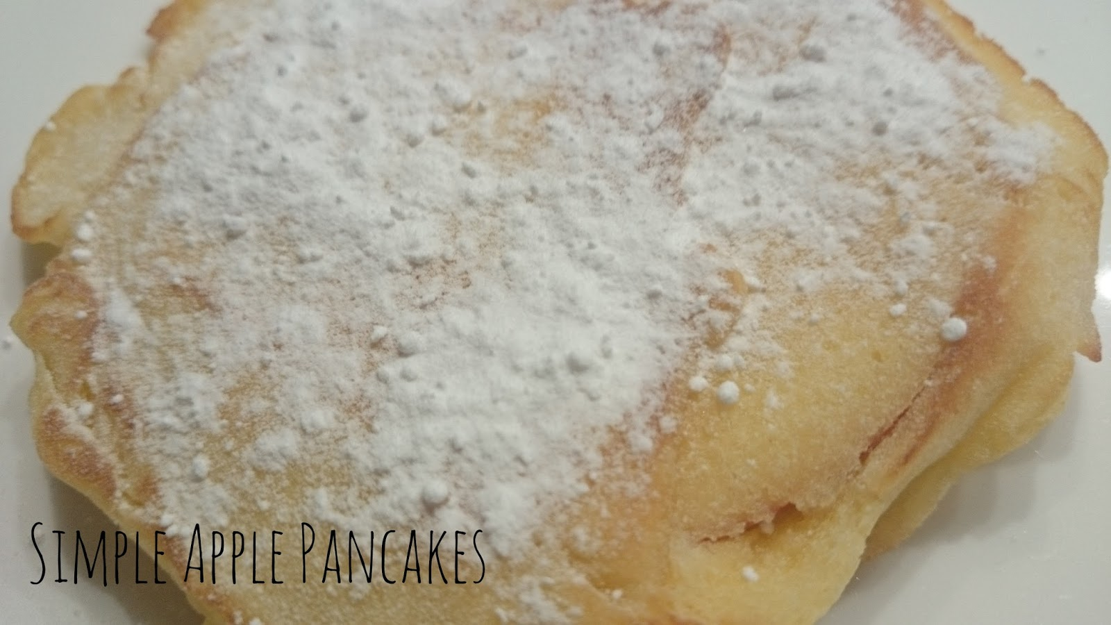 Recipe Simple Apple Pancakes