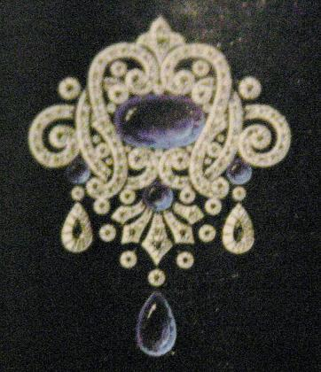 blue gold ring white diamond faberge star the brooch vintage of north sapphire img products