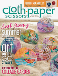 Cloth Paper Scissors July/August 2013