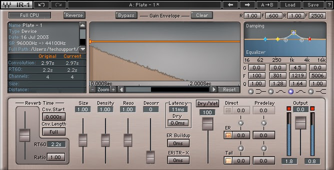 Best Space Designer Reverb Vocals