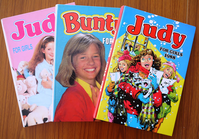 Judy and Bunty annuals