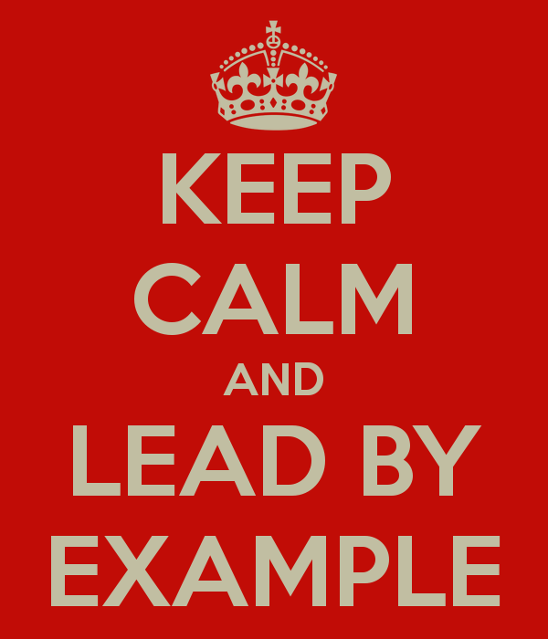 "lead by example This post is part of a series giving you a closer look at the core values that define  the classy culture this post focuses on how we aim to ""lead by example."