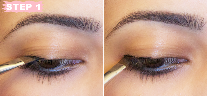 Tutorial: Winged Eyeliner Step By Step by Le Beauty Girl
