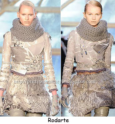 Екстравагантно плетиво от Rodarte