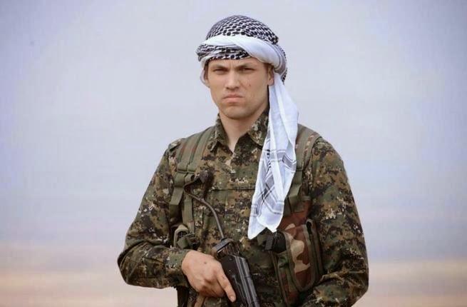 Former U.S. Marine fighting alongside Kurds in Syria