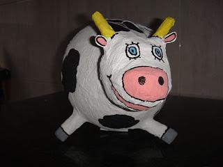 Manualidades con cuatro cosillas la vaca pi ata - Manualidades art attack ...